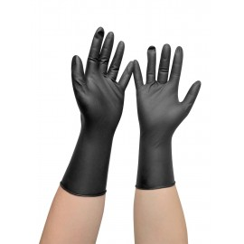 Vinyl gloves (black)