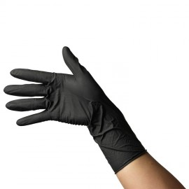 Latex Gloves Black Touch