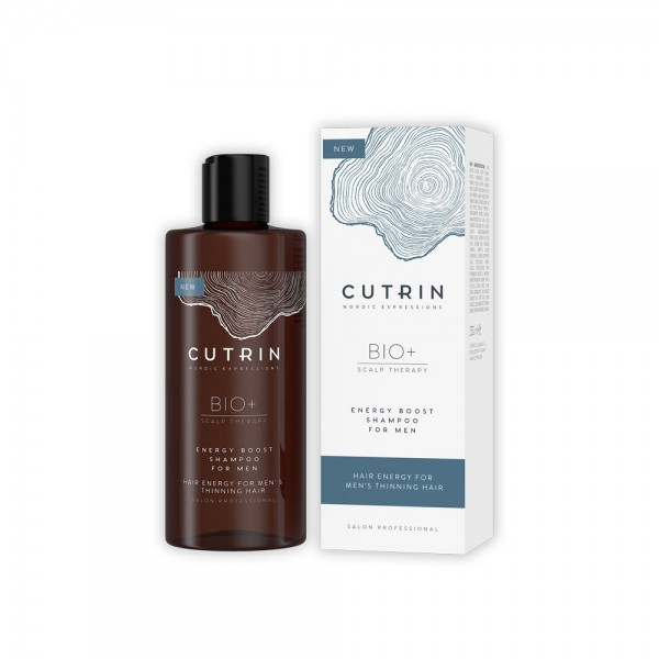 Cutrin BIO+ Energy Boost Shampoo for Men