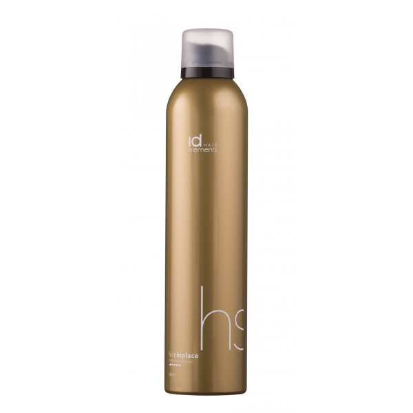 IdHAIR Elements Gold Fix It In Place Hairspray