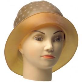 Kepurėlė sruogų dažymui